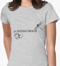 OUTLANDER Sassenach Design Women's Fitted T-Shirt