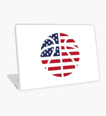 American Basketball Flag Laptop Skin