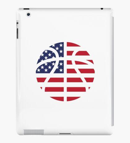 American Basketball Flag iPad Case/Skin