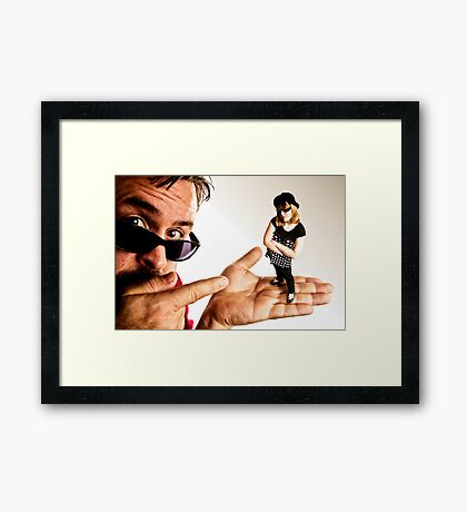 What Attitude, Dad? Framed Print