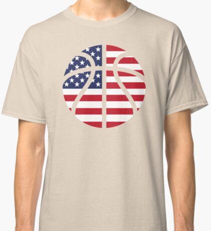 American Basketball Flag Classic T-Shirt