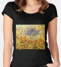 Végétation expressive Women's Fitted Scoop T-Shirt