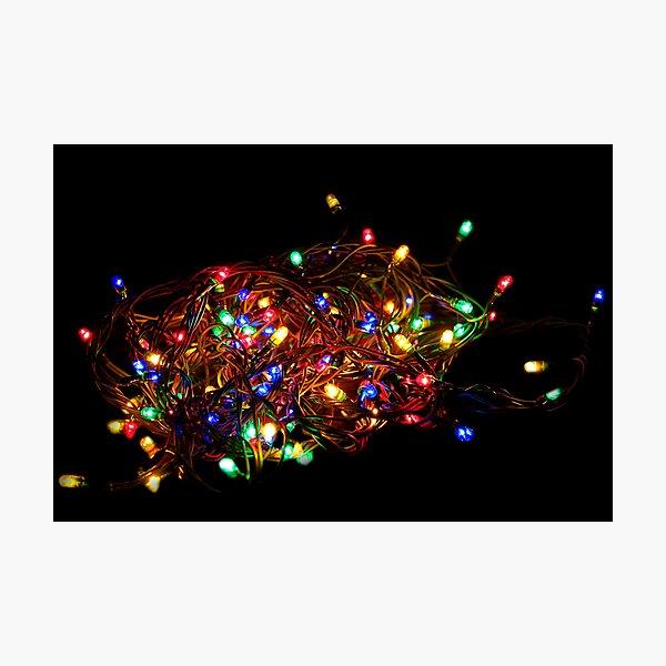 Christmas Lights Photographic Print