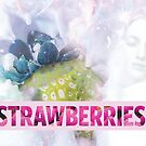 STRAWBERRIES by SIE in light yellow by sourceindie