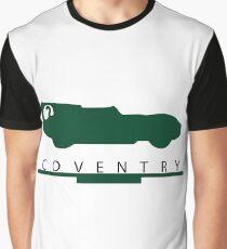 Coventry Jaguar 50s era tribute Graphic T-Shirt