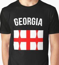 Georgia Flag Graphic T-Shirt