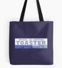 Official G Certified Toaster Tote Bag