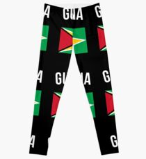Guyana Flagge Leggings