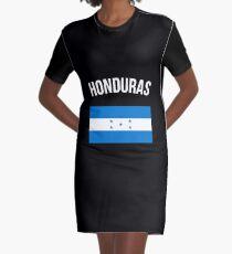 Honduras-Flagge T-Shirt Kleid