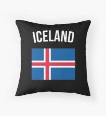 Island Flagge Kissen