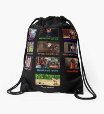 Monkey Island Alignments Drawstring Bag