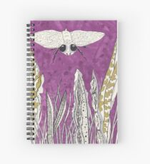 #5 Royal flying inksect Spiral Notebook