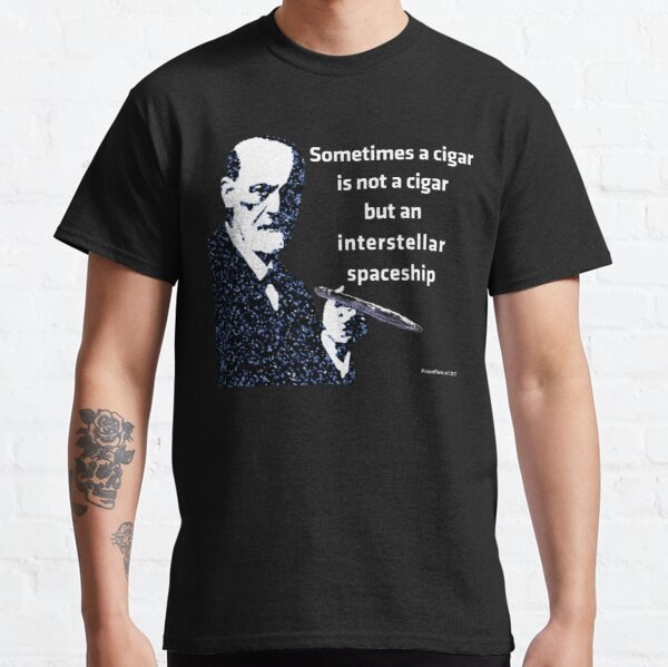 Freud and the Cigar-shaped Asteroid Classic T-Shirt