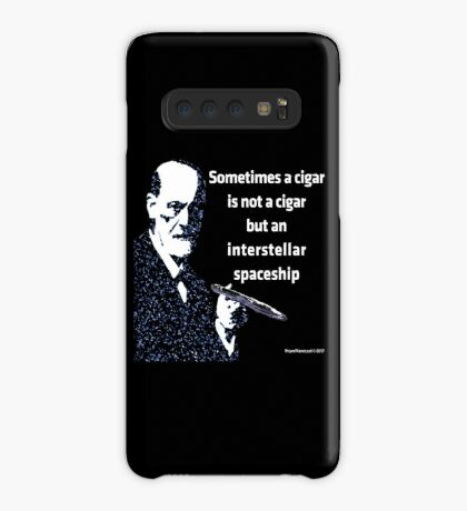 Freud and the Cigar-shaped Asteroid Case/Skin for Samsung Galaxy