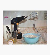 Handyman/ Baker Photographic Print