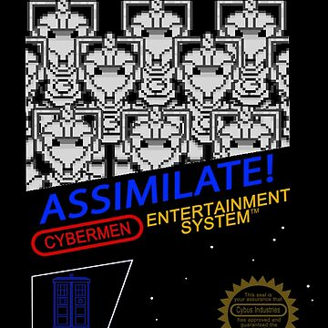 NINTENDO: NES ASSIMILATE! by thedoctor37