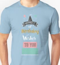 Birthday Greeting Card T-Shirt