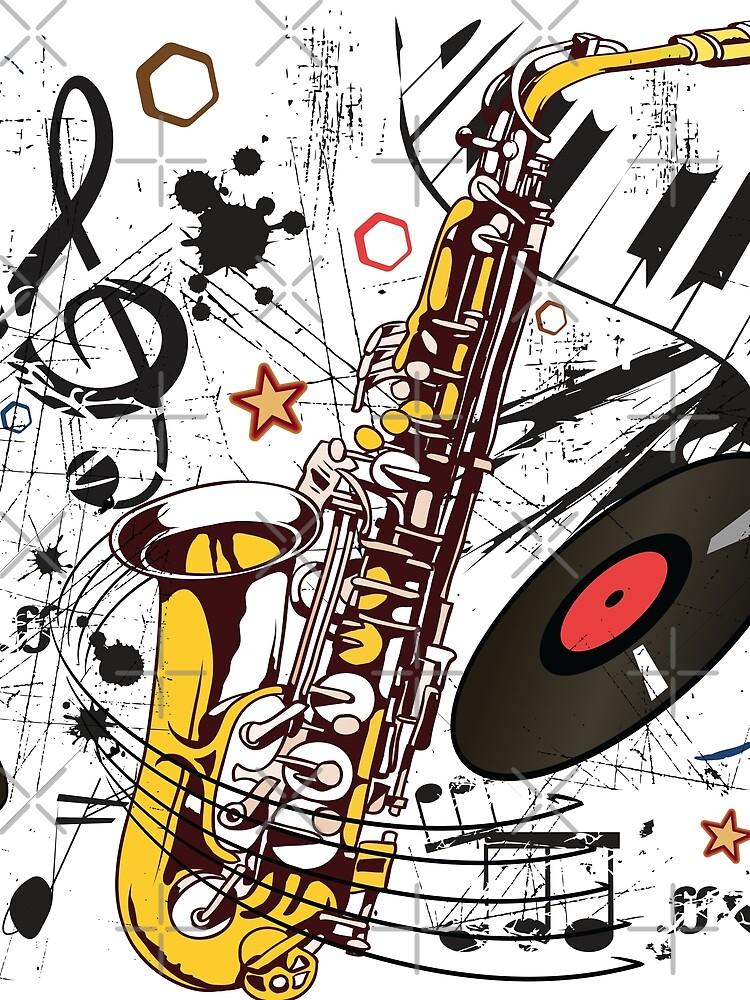 Sax Tunes by TeeShow