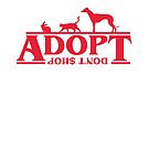 Adopt Don't Stop Design 2 by Calum Margetts Illustration