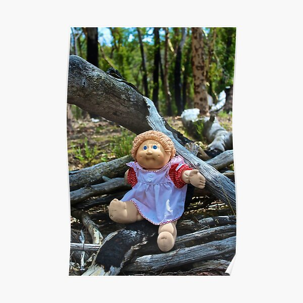 Burnt Timber Cabbage Patch Kid Poster