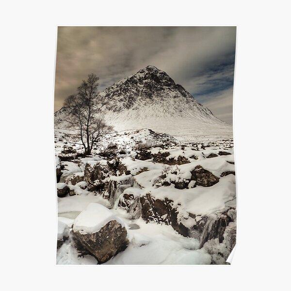 Buachaille Etive Mor, Glencoe, Scotland Poster