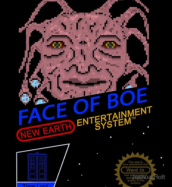 NINTENDO: NES Face Of Boe by Joshua Holt