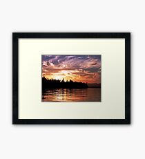 Painted Sky (1) Framed Print