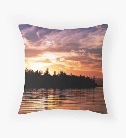 Painted Sky (1) Throw Pillow