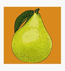 Pears Attack Photographic Print