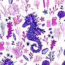 Sea Unicorns - White by makemerriness