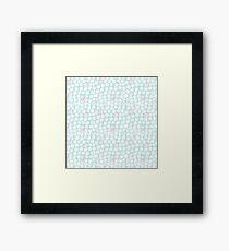 Dots pattern Framed Print