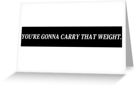 «Vas a llevar ese peso - Cowboy Bebop» de AtomicLukai