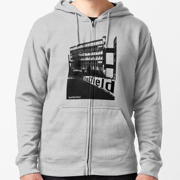 TowerBlockMetal Urban T Shirt 2 Zipped Hoodie