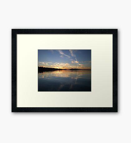 Painted Sky (2) Framed Print