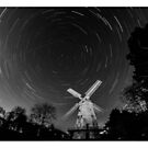 Star Trail - Upminster Windmill by Peter Barrett