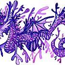 Sea Dragon - Black by makemerriness