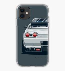 Nissan GT R Metal Grid Pattern iphone case