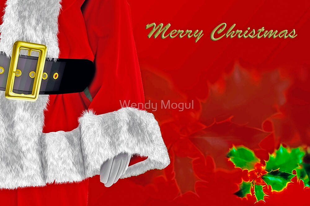 Merry Christmas by Wendy Mogul