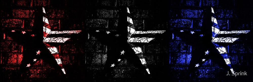 Contrasted Americana by J. Sprink