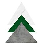 Marble Green Concrete Arrows Collage by by-jwp