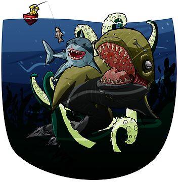 Bigger Fish by goldchoconite