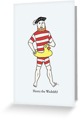Henry the Wade(th) by evilflea