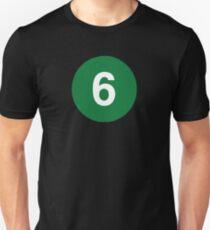 New York Raised Me / New York / 6 Train Unisex T-Shirt