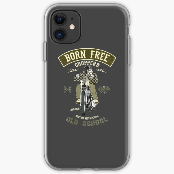 Born Free - Custom Motorcycle iPhone Soft Case