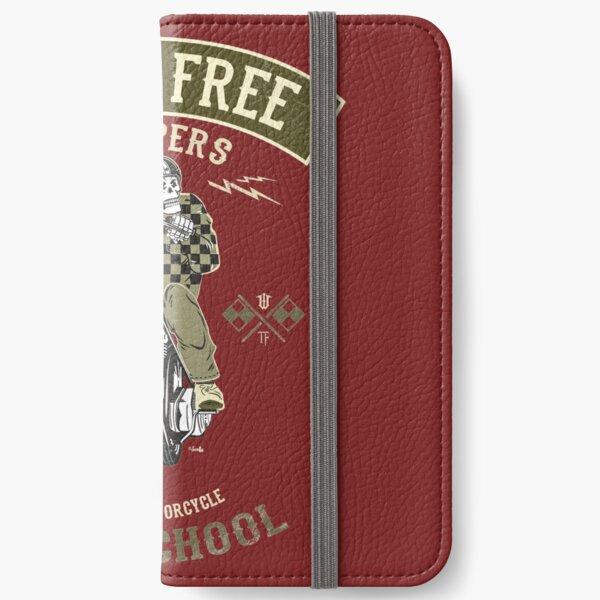 Born Free - Custom Motorcycle iPhone Wallet