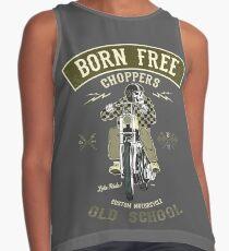 Born Free - Custom Motorcycle Kontrast Top