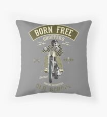 Born Free - Custom Motorcycle Bodenkissen