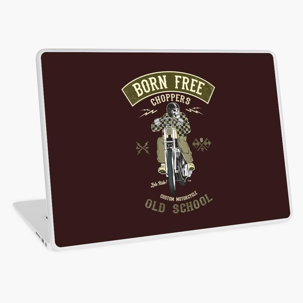 Born Free - Custom Motorcycle Laptop Folie