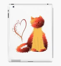 Cute Ginger Cat Art iPad Case/Skin