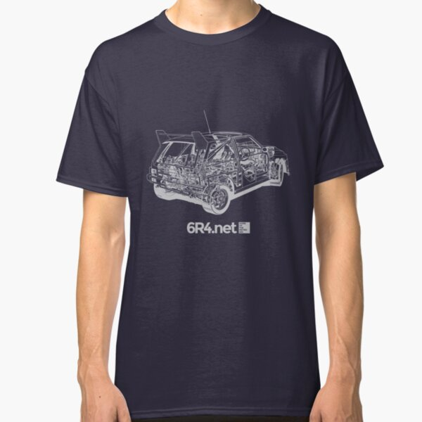 Metro 6R4 - Technical Image Classic T-Shirt